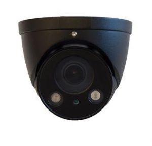 Per heden leverbaar, IP dome camera zwarte uitvoering